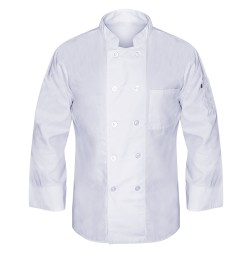 Mesh Back Chef Coat