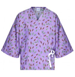 Patient Gown with Open Front