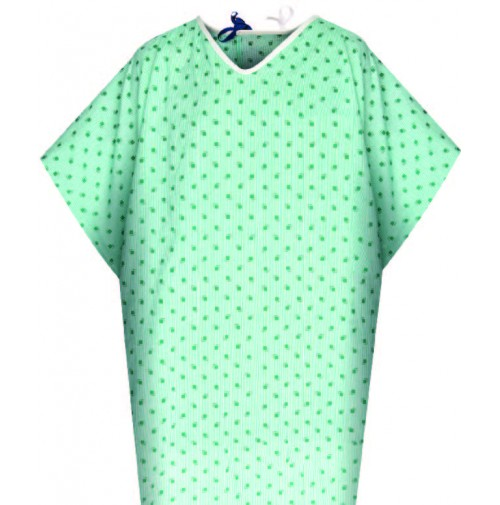 Bariatric Patient Gowns, 55/45 Blend, American Dawn