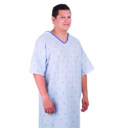 Patient Gown Founders Print, 3XL