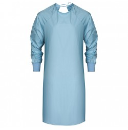 Blue Isolation Gown by American Dawn