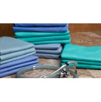 Operating Room Sheets, Ceil Blue, By ADI