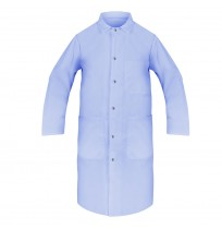 Lab Coats, 100% Spun Poly, Light Blue