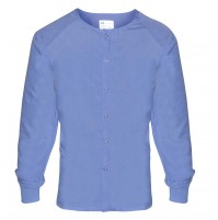 T180 Scrub Warmup Jacket, Ceil Blue