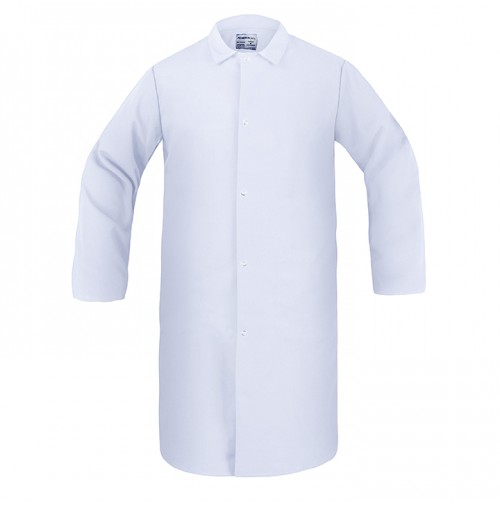 Food Processing Frock, No Pocket, White