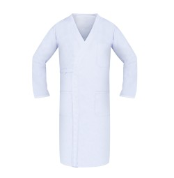 Butcher Wraps, 100% Spun Poly, White, 3 Pocket