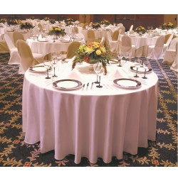 120 inch Round Milliken Horizon Table Linen