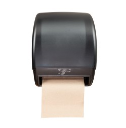 Hands-Free Hardwound Paper Roll Dispenser, Electronic
