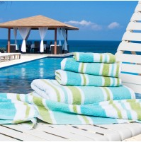 Shoreline Cabana Stripe 3-piece Towel Set