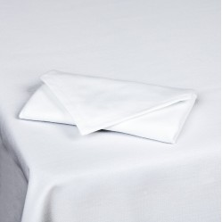 Bright White Square Tablecloths