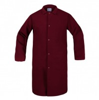 Butcher Frock, 3 Inside Pockets, Burgundy