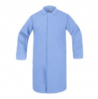 HACCP Frock, No Pocket, Light Blue