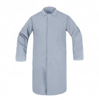HACCP Frock, No Pocket, Light Gray