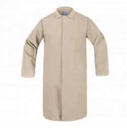 HACCP Frock, No Pocket, Tan