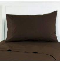 Brown Sheets and Pillowcases