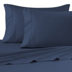 Navy Sheets and Pillowcases