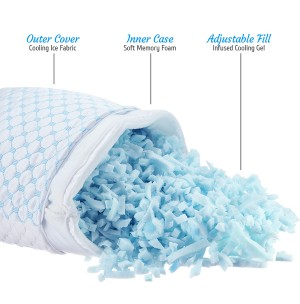 Clara Clark® Reversible Cooling Pillow