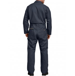 Dickies® Deluxe Blended Long Sleeve Coveralls, Dark Navy