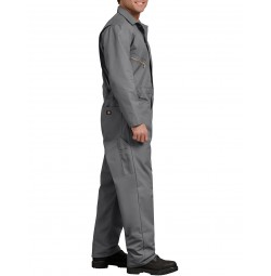 Dickies® Deluxe Blended Long Sleeve Coveralls, Gray