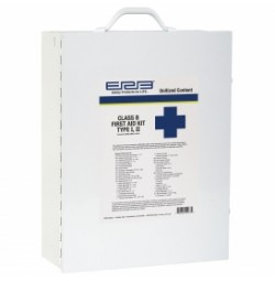 First Aid Kit, Class B Unitized Contents Metal Box