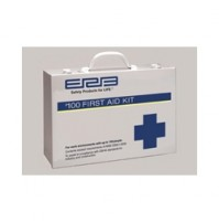 First Aid Kit, 100 Premium, Metal
