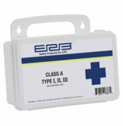 First Aid Kit, Class A Bulk Contents Metal Box