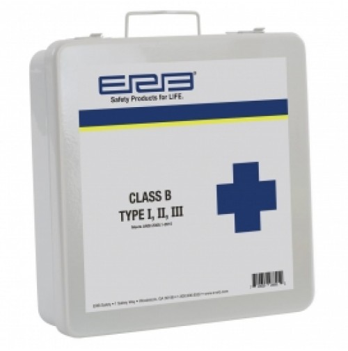 First Aid Kit, Class B Bulk Contents Metal Box