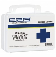 First Aid Kit, Class A Unitized Contents Plastic Box