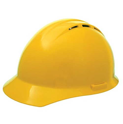 AMERICANA® Vented Cap, Slide Lock Cap Safety Helmet