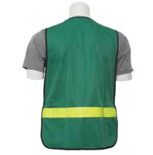 S179 CERT Green Safety Vest