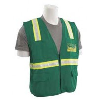 S813 Surveyor CERT Green Vest