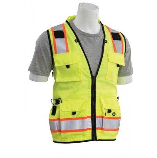 S252C Surveyor/Multi-Pocket Safety Vest (Class 2)