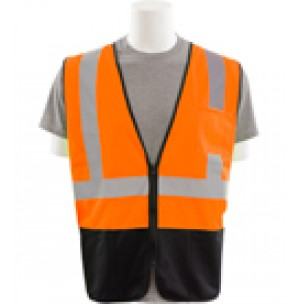 S363PB Zipper Economy Mesh Safety Vest (Class 2)