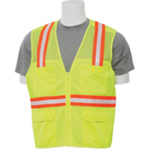 S410 Non ANSI Surveyor's Lime Safety Vest