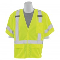 S661 5-Point Break-Away D-Ring Safety Vest (Class 3)