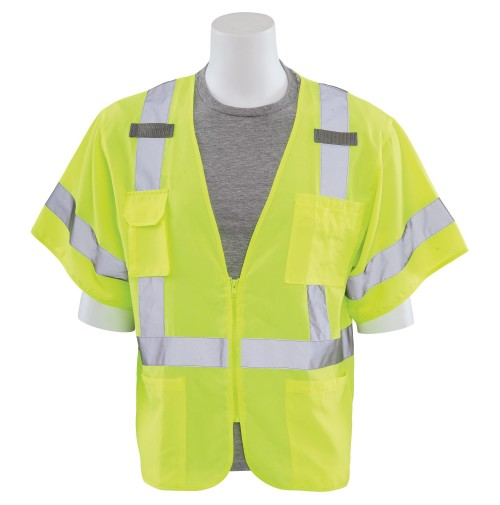 S852 Multi-Pocket Safety Vest (Class 3)