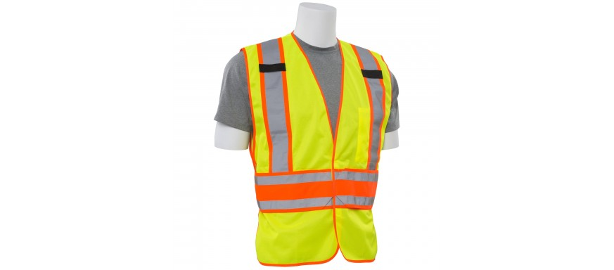 ANSI Class 2 Hi Visibility Safety Vests
