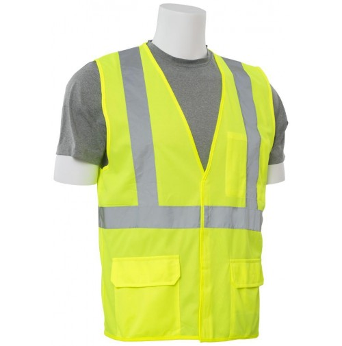 S190 Flame Retardant Treated Background Material Safety Vest (Class 2)