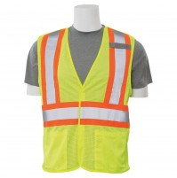 S322 Contrasting Trim Break-Away Safety Vest (Class 2)