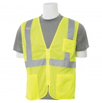 S363P Zipper Economy Mesh Safety Vest (Class 2)