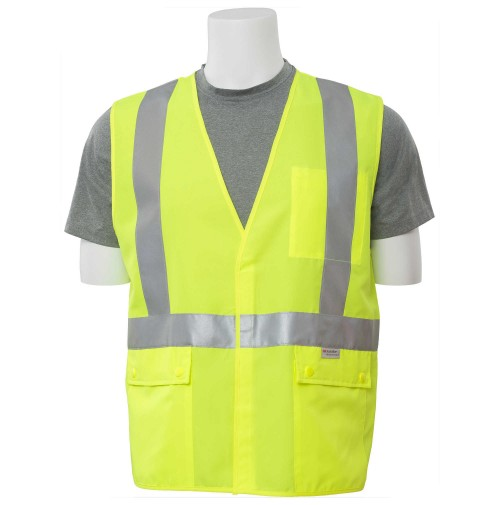 S365 Retardant Treated Background Material with Flame Resistant Components Vest (Class 2)