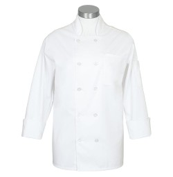 C10CC Long Sleeve Chef Comfort Coat