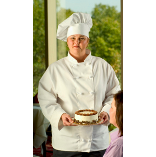 12 Button Executive White Chef Coat