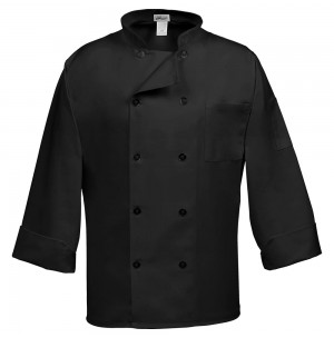 Fame® C10P Classic 3/4 Length Sleeve Chef Coat