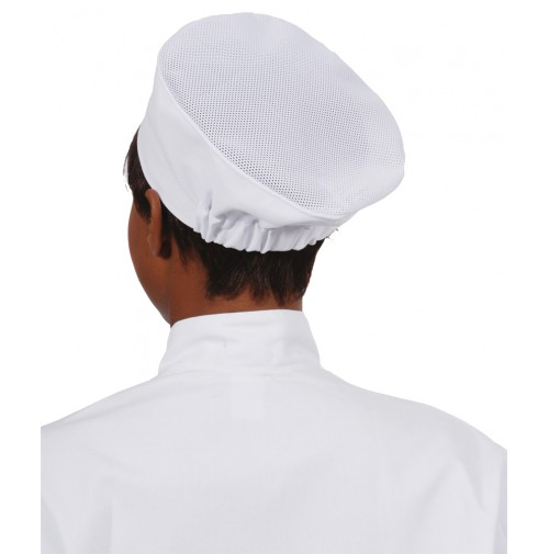 Mesh Top Beanie Chef Hat
