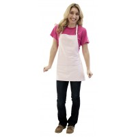 Bib Apron w/Adjustable Neck, 3 Pocket