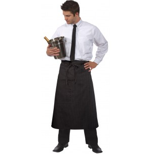 Full Bistro Apron, Center Patch Pocket