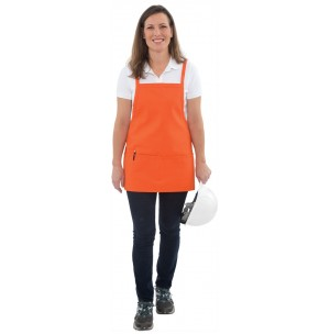 Criss Cross Bib Apron w/Adjustable Neck