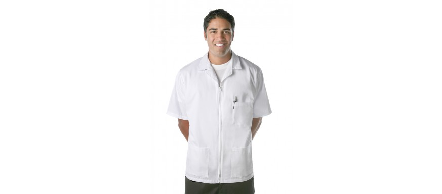 Zipper Front Smocks