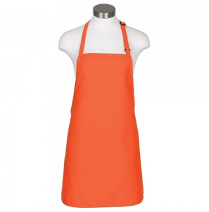 Fame® F33L Long Bib Apron with Adjustable Neck